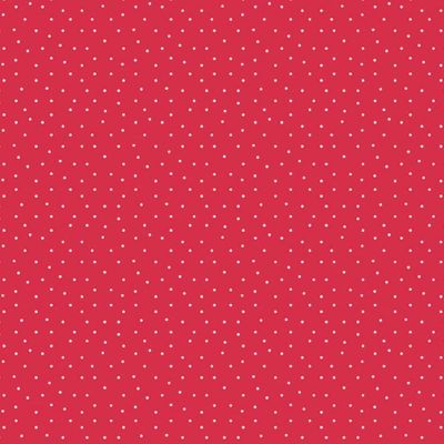 Andover - Strawberry Jam - Dainty Dots Red