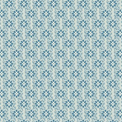 Remnant -  Andover - Perfect Union - Woven State Blue - 45 x 110cm