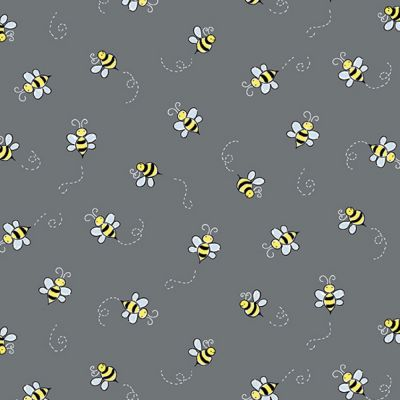 Andover - Bumble Bee - Dark Grey
