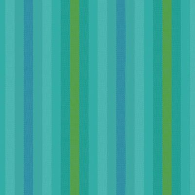 Remnant -Andover - Kaleidoscope - Yarn Dyed - Stripe - Teal - 44 x 110cm