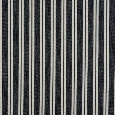 Porter & Stone - Arley Stripe - Charcoal - Curtain Fabric