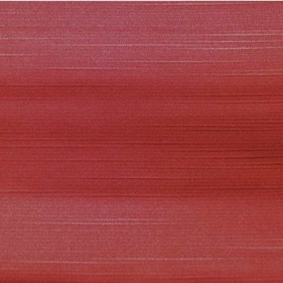 Textured Soft Sheen - Red - Curtain Fabric