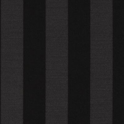 Ascot Stripe - Black - Curtain Fabric