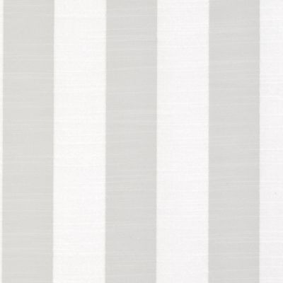 Ascot Stripe - White - Curtain Fabric