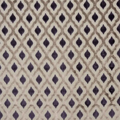 Porter & Stone - Assisi - Aubergine - Curtain Fabric