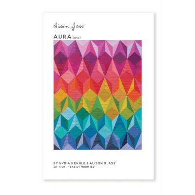 Alison Glass Quilt Patterns - Aura Quilt Pattern