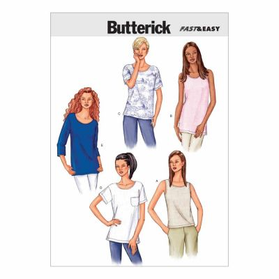 Butterick Sewing Pattern B3383 Misses'/Misses' Petite Top