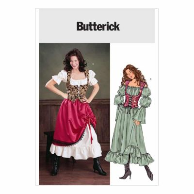 Butterick Sewing Pattern B3906 Misses'/Misses' Petite Costume