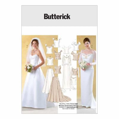 Butterick Sewing Pattern B4131 Misses' Top and Skirt
