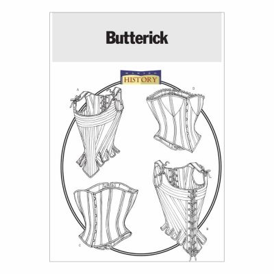 Butterick Sewing Pattern B4254 Misses' Stays and Corsets