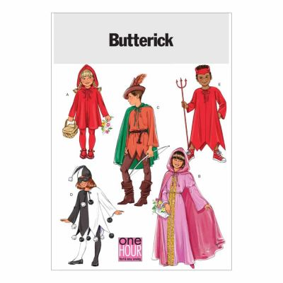 Butterick Sewing Pattern B4319 Children's/Girls' Classic Character Costumes