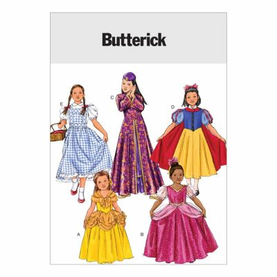Butterick Sewing Pattern B4320 Children's/Girls' Costume