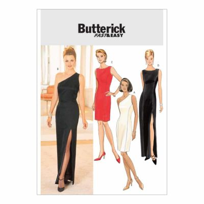 Butterick Sewing Pattern B4343 Misses'/Misses' Petite Lined Dress