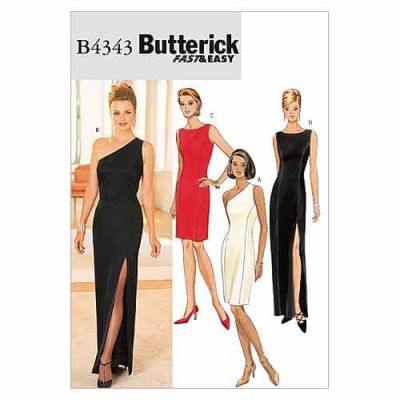 Remnant - Butterick Sewing Pattern B4343 -  Size: 6 - (6-8-10-12) -End of Line -