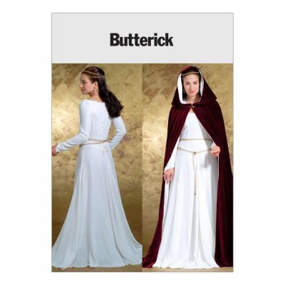 Butterick Sewing Pattern B4377 Misses' Costumes