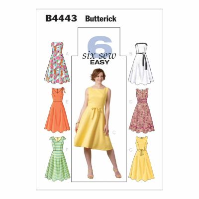 Butterick Sewing Pattern B4443 Misses'/Misses' Petite Dress