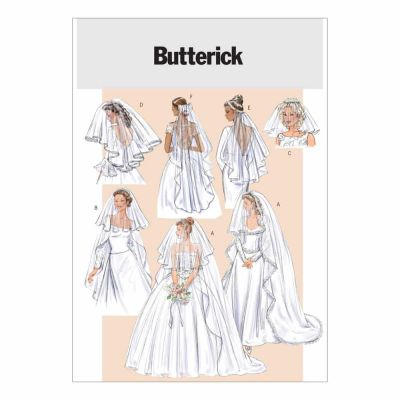 Butterick Sewing Pattern B4487 Bridal Veils