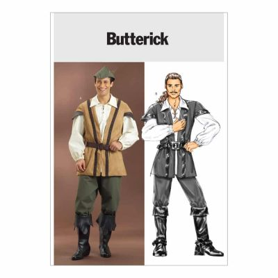 Butterick Sewing Pattern B4574 Men's Costume