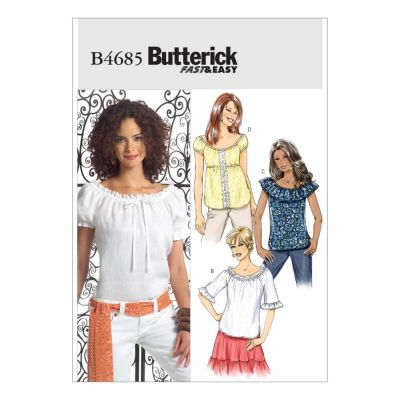 Butterick Sewing Pattern B4685 Misses' Top