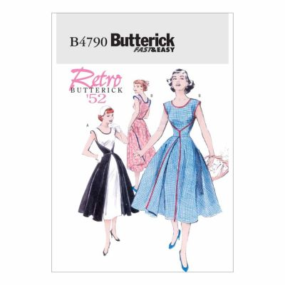 Butterick Sewing Pattern B4790 Misses' Wrap Dress