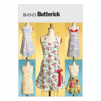 Butterick Sewing Pattern B4945 Aprons