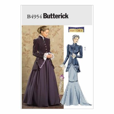 Butterick Sewing Pattern B4954 Misses'/Misses' Petite Early 20th Century Costume