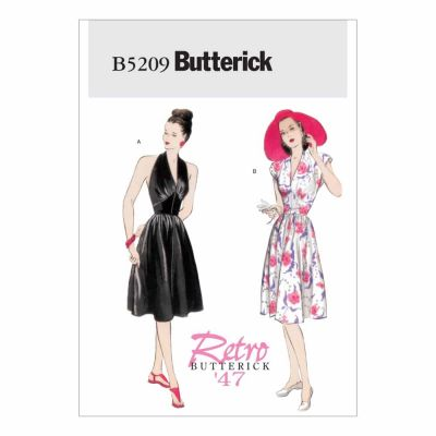Butterick Sewing Pattern B5209 Misses' Dress