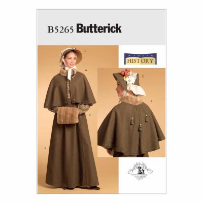 Butterick Sewing Pattern B5265 Misses' Historical Costume