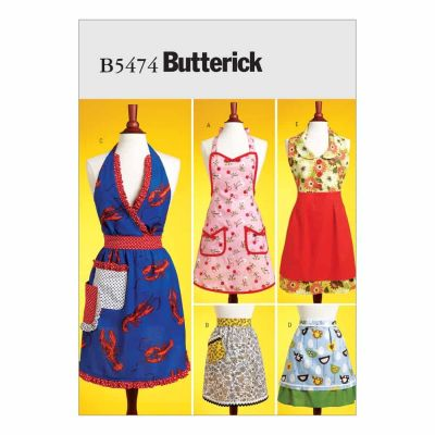 Butterick Sewing Pattern B5474 Aprons