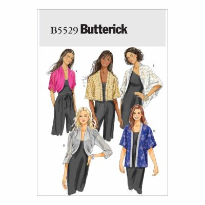 Butterick Sewing Pattern B5529 Misses' Jacket