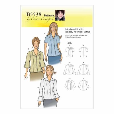 Butterick Sewing Pattern B5538 Misses'/Women's Blouse