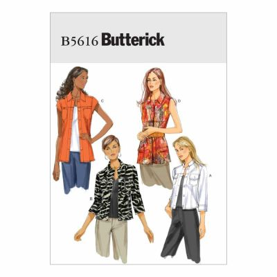 Butterick Sewing Pattern B5616 Misses' Jacket
