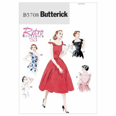Butterick Sewing Pattern B5708 Misses' Dress