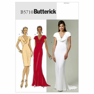 Butterick Sewing Pattern B5710 Misses' Dress