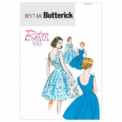 Butterick Sewing Pattern B5748 Misses'/Misses' Petite Dress