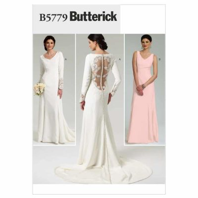 Butterick Sewing Pattern B5779 Misses' Dress