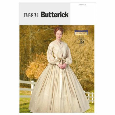 Butterick Sewing Pattern B5831 Misses' Dress