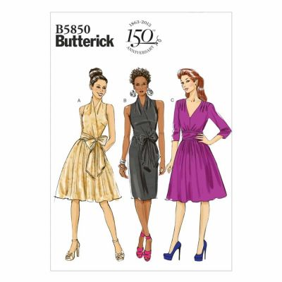 Butterick Sewing Pattern B5850 Misses' Dress