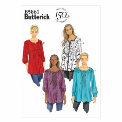 Butterick Sewing Pattern B5861 Misses'/Women's Tunic