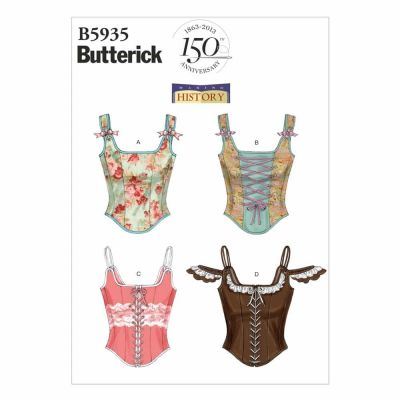 Butterick Sewing Pattern B5935 Misses' Corset