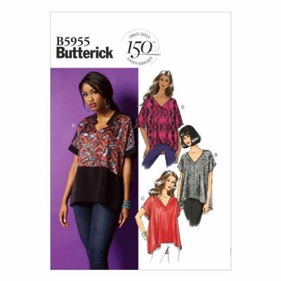 Butterick Sewing Pattern B5955 Misses' Top
