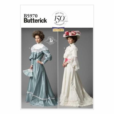Butterick Sewing Pattern B5970 Misses' Top and Skirt