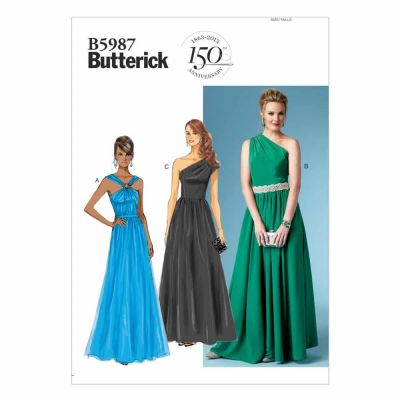 Butterick Sewing Pattern B5987 Misses' Dress
