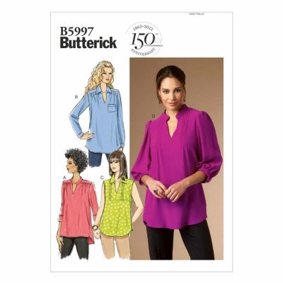 Butterick Sewing Pattern B5997 Misses'/Women's Top