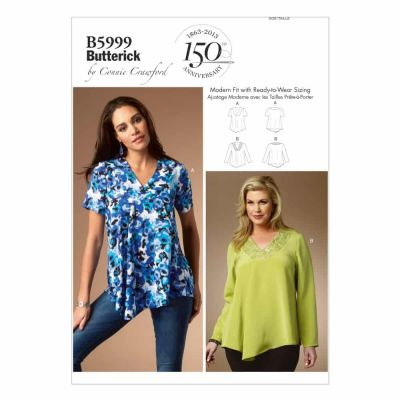 Butterick Sewing Pattern B5999 Misses'/Women's Top