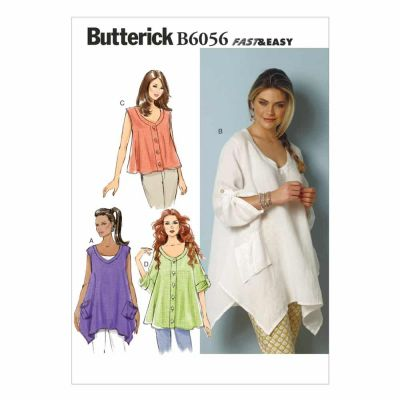 Butterick Sewing Pattern B6056 Misses' Top