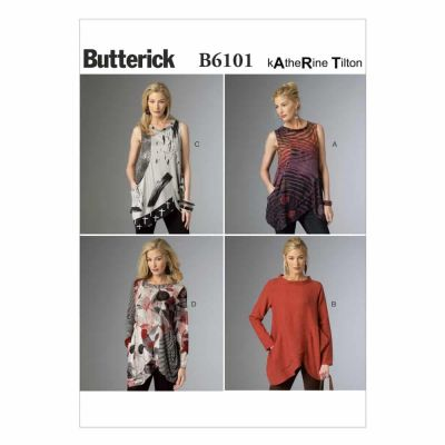 Butterick Sewing Pattern B6101 Misses' Tunic