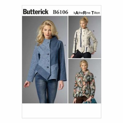 Butterick Sewing Pattern B6106 Misses' Jacket