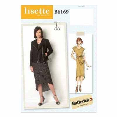 Butterick Sewing Pattern B6169 Misses' Jacket and Dress
