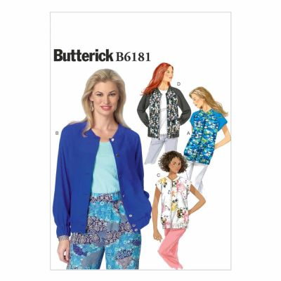 Butterick Sewing Pattern B6181 Misses' Jacket